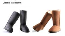Long Style Warm Winter Snow Australia Sheepskin Boot Wholesale