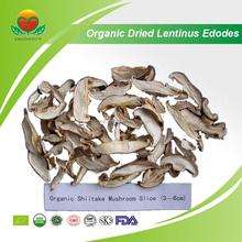 Manufacturer Supply 0.3-0.5,0.5-1.0cm Organic Dried Lentinus Edodes Slice