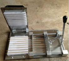 Souvlaki máquina de espeto / souvlaki máquina de encordoamento / souvlaki corda vestindo máquina