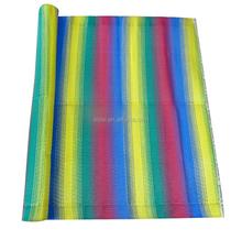 Indoor Polypropylene Plastic Place Stripe Mat