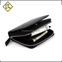 Popular professional coin and change leather purse for men