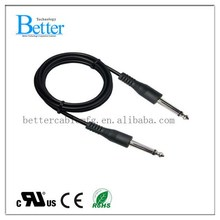 High quality new coming blue 3 rca 2. stereo audio cable