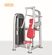 Beautiful Red Colour Certificated Quality GYM Fitness For Chest Press Machine