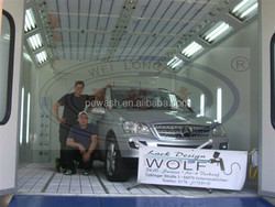 Weilongda Spray Booth, WLD8400 CE Certificated Water Based Car Paint Booth, Car Painting House