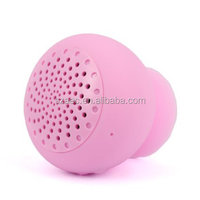 Hot new products for 2015 waterproof portable small business ideas speaker with suction cup for all mobile phones