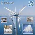 1kw seguro aixs horizontales de la turbina de viento de imán permanente alternador y baja de rpm de bajo costo de combustible