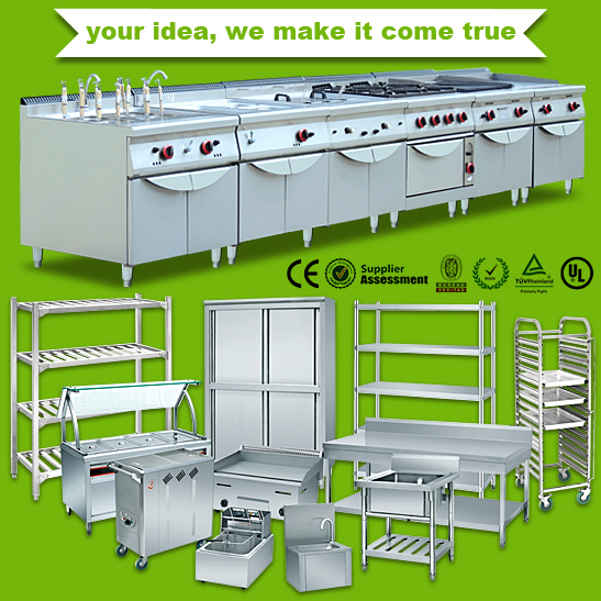 Chinese Hotel Kitchen Restaurant Equipment Suppliers(with