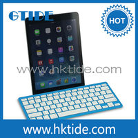 android tablet wireless gaming keyboard,for apple ipad computer keyboard bluetooth,2*AAA battery keyboard stand from manufacture