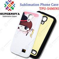Custom Printed TPU Cover for Samsung S4 MINI
