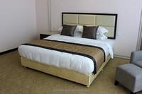 100% cotton and 50% cotton hotel bed linen fabric