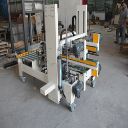 Semi-auto Flaps Folding Carton Sealer/high efficiency case sealing machine