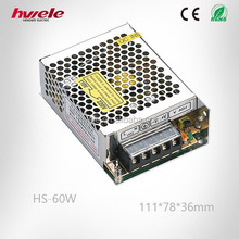 60W 24V switching power supply for CCTV LED strip light /China manufacture