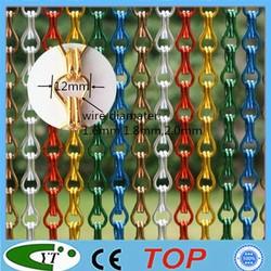Durable Aluminum chain link Fly Blind screen door/window