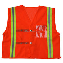 Class 2 Red Mesh Breakaway high visibility safety vest, Cordova