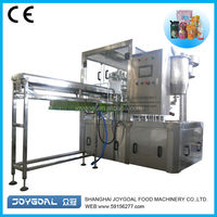 Cheap juice drink spout pouch bag filling sealing packing machine/high speed spouted pouch filling machines