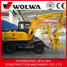 sugar cane grapple log loader with high quality for sale