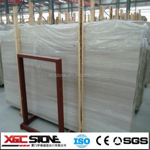 2015 Hot sale cheap white wooden marble tile price