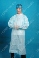 Sterile surgical gown, medical supplies,CPE impervious gown