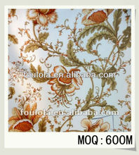 New Curtain Designs 2012 Polyester Printed Curtain Fabrics