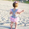 ملابس اطفال بالجملة، الرضيع رومبير adorabel للفتيات