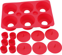 Baking Tools 6 Cavity Silicone Donut Mould