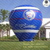 Custom blue inflatable Hot air advertising sphere balloon