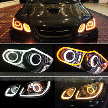 customized shape color changing smd020 pure silicon bar Led Flexible Strip light led drl daytime Running Light