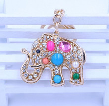 cheap gift for girl good quality yiwu products keychain and keyring