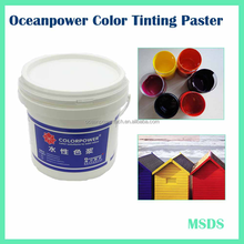Water base Colorants for emulsion, architectural and water-based wood paint use