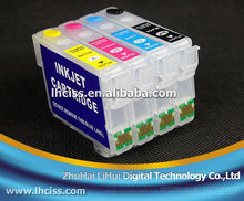 Lifei T1951-T1954 empty Refillable ink cartridge for Epson XP-101/XP-201/XP-211
