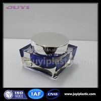 hot sale Skin Care Cream Use and Plastic Body Material 50ml acrylic cosmetic cream jars