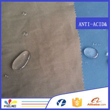 190gsm woven T/C 65/35 oil soil release fabric Teflon waterproof fabric for workwear