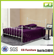 hot sale furniture used double bed for bedroom