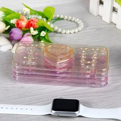 """love Transparent tpu soft diamond bling back case cover for Apple iPhone 6 6g 4.7"""""""