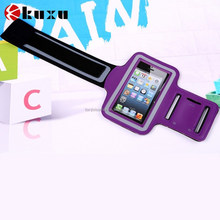 Exercise sport mobile phone arm pouch captain armband case for iphone6