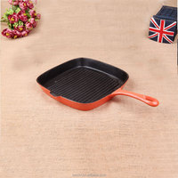 High Quality Cast Iron Bbq Grill Fry Pan