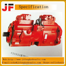 Excavator main pump K3V K3V63DT K3V112DT K3V112DTP K3V63BDT,K3V112BDT,K3V140DT,K3V180DT