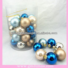 2016 hot sale xmas decors,popular and best selling christmas glass ball,Trade Assurance supplier