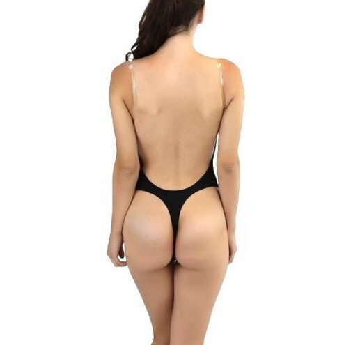 Plunging Halter Bodysuit Plunge Black Bodysuit Backless