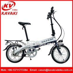 2015 Popular Style High Performance Attractive Mini Folding Electric Mountain Bike For Promote Environmental Protection