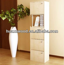 HXSL MDF furniture PB furniture Laminated furniture Book cabinet Book shelf
