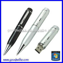 2015hot selling company gift pen usb flash pen drive 500gb