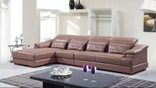 Brand new black leather sofa bed with CE certificate