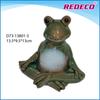 Antique ceramic frog animal figurine