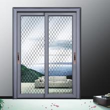 Interior personalizado puertas divisorias, marco cristal de aluminio puertas