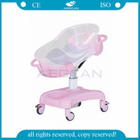 AG-CB011 with mattress pink baby trundle bed