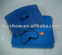 fleece blanket kits/ airline travel kits