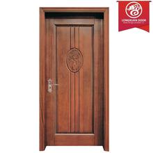 China Custom Solid Core Composite Wood Doors Open Paint, Single Swing Inner Doors