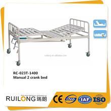 RC023T Practical 2 crank manual hospital bed