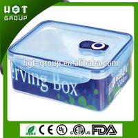 Relied in time heat resistant airtight microwave food grade plastic food container for picnic